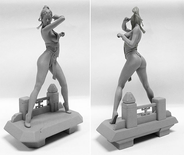 red assassin statue 3d print from the factory