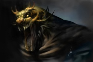 Monster Painting in Photoshop with Color