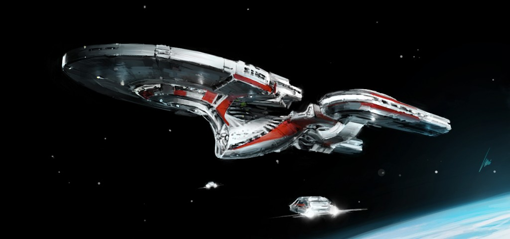 Star Trek Enterprise NCC-1791  Predator Concept