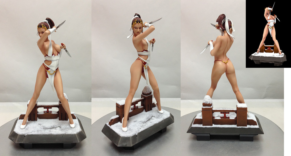red assassin statue web exclusive version