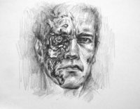 drawing the terminator